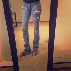 Hollister 1R Ripped Jeans